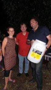 Christelle Thieffry, Pascal Prestat et Georges Cumbo