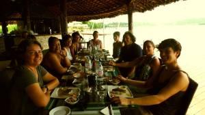 Déjeuner françaises du vanuatu